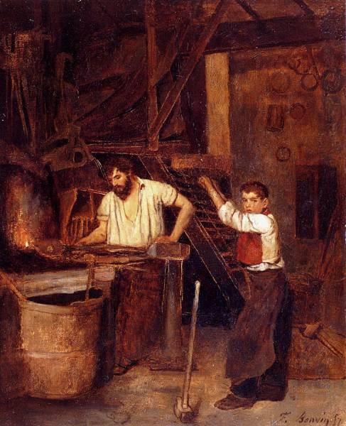 Saint The Blacksmiths Shop